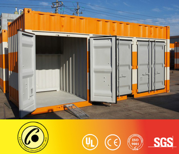 20' General Container Door Used For Storage Dry Cargo Shipping Container -  Buy Roller Door Container,Shutter Door,Storage Container Product on