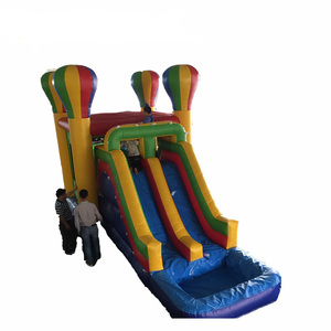 Children Commercial Inflatable Combo Slide Inflatable Combo Bouncer