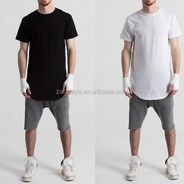 elongated t shirts - men cool best color combinations fashion design couple  ringers elongated t shirts 64722a528