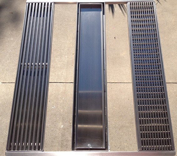 Long Stainless Steel Linear Shower Drain Floor Grate Drain