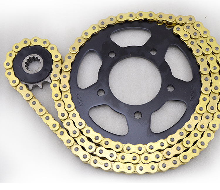 525 Roller Chain gold