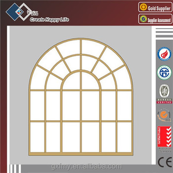 Fixed Arch Glass Window For Church