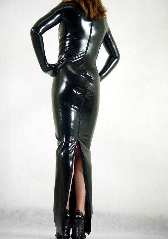 Get Quotations · Metallic Black Lycra Spandex Catsuit Halloween Party  Zentai Costumes Dress 98c089eea