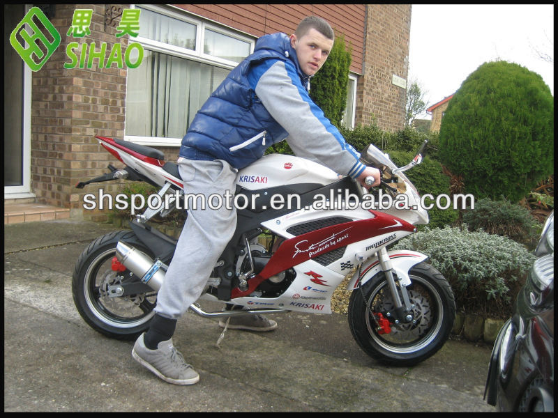 Mate super pocket bike 150cc motocicletas de gran alcance