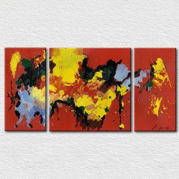 Spezielle Leinwand Abstrakte Weltkarte Malerei Für Büro Raumdekoration