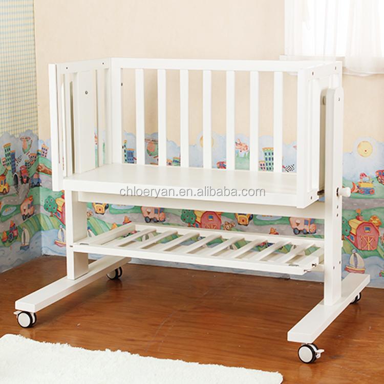 Nuevo Diseño Del Bebé Mesa Muebles Cama Mecedora,Madera Eléctrica ...