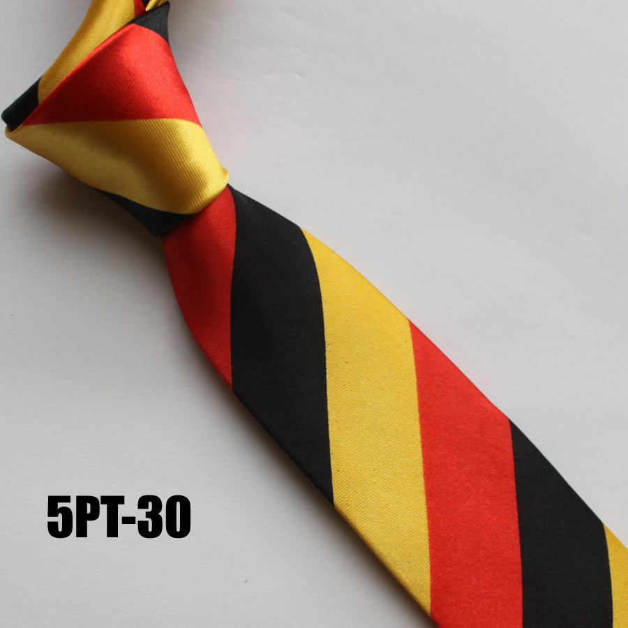 HOT Sale 5CM Men Narrow <strong>Ties</strong> Unique Polyester Necktie Wholesale