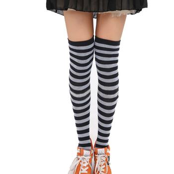 485aa389baf US  0.8 - 1   Pair. 2019 Yiwu fenghui high school girl s knee high stockings