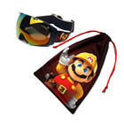 Custom microfiber pouch for goggles/ski goggles bag
