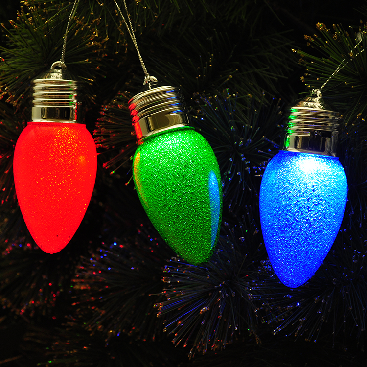 Ouneed 12*3.5cm Christmas Xmas Tree Color Changing Led Light Lamp Home Decoration Happy Gifts High Quality Optical Oct 6 Furniture