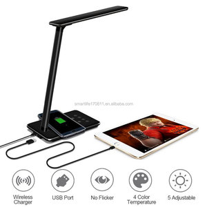 Golden supplier for wireless charger bedside reading lamp wall