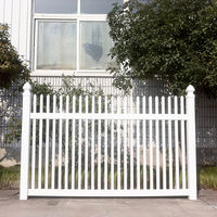 Easy Installation PVC Garden Fence
