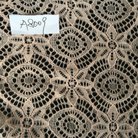 Fancy Star Dot Design Nylon Spandex Lace Fabric Ready Goods