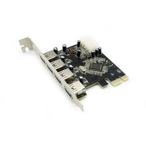 PCI Express Expansion USB 3.0 Card and 15-Pin Power Connector