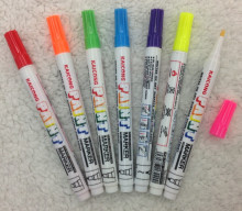 Fluorescent color 1mm Opaque ink,Valve-action,fine point paint marker,paint pen