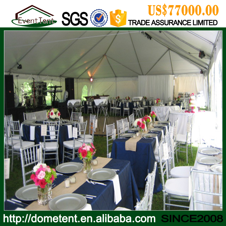 Wedding Tents With 500 Seat Guest For Outdoor marriage ceremony, large white wedding tent for sale