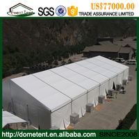 temporary storage tent used warehouse construction materials