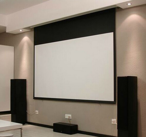 2019 The Hottest Electric Projector Screen in 4:3 / 16:9