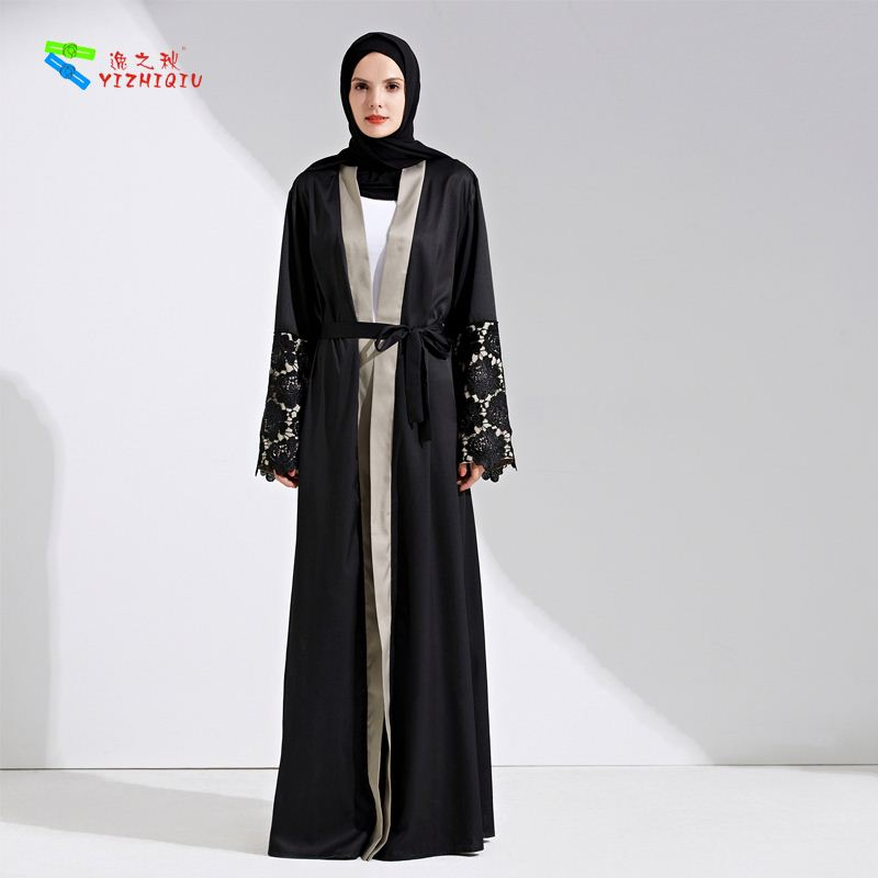 YIZHIQIU luxury abaya beautiful abaya designs muslim abaya
