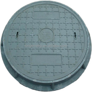 SMC round manhole cover for road covering / BS EN124 D400 fiberglass manhole cover/GRP manhole cover