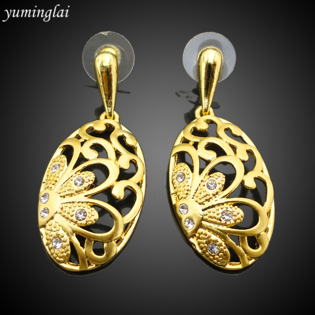 24k dubai gold jewelry set / wedding jewellery designs