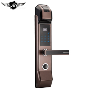 High security door lever lock smart home wifi lock smart doorlock sus304 mortise biometric door lock digital fingerprint