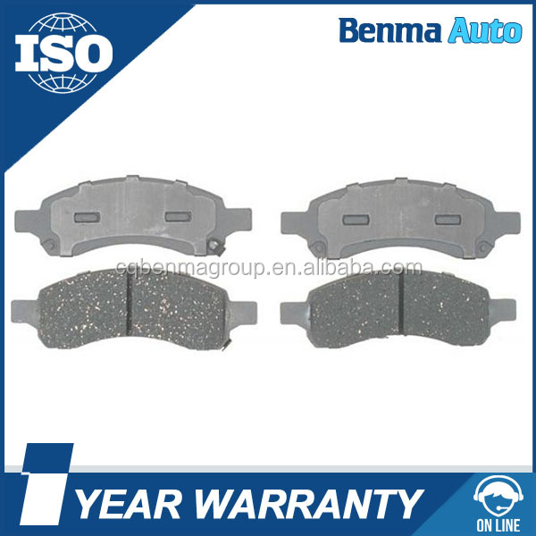 Hot sale car body parts 88965681 disc brake pad