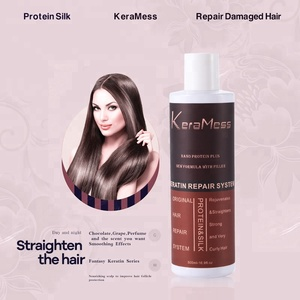 Private label brazilian protein keratin treatment hair straightening Proven Amazing results