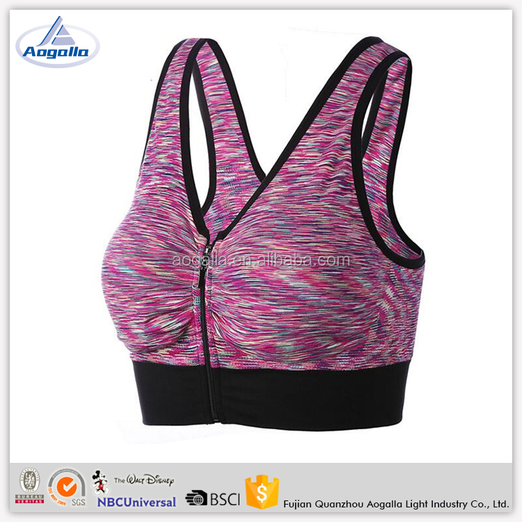 New Arrival Wholesale Wear Made In China Workout Clothing Women Breathable Sports Bra