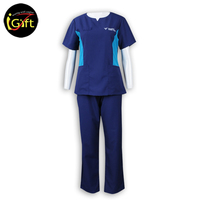 High Quality Cotton Polyester Hotel Cleaning Service Uniform