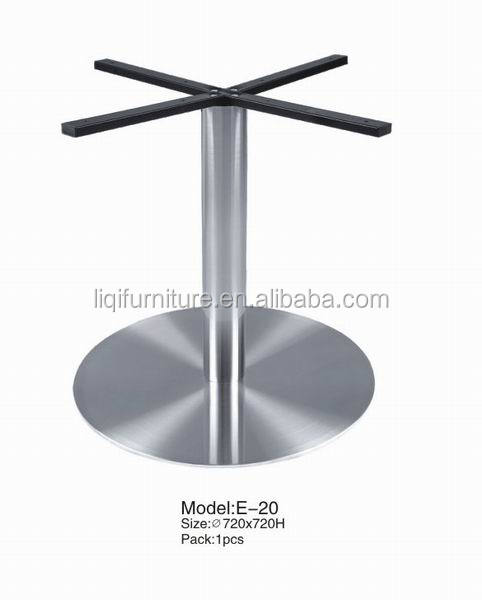 Stainless Steel Table Base For Coffee Shop Hotels Western Restaurant LQ-E20