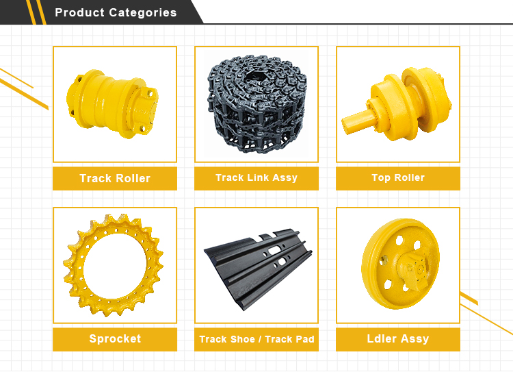 Durable Custom E320 Excavator Spare Parts Chain Sprocket for Caterpillar