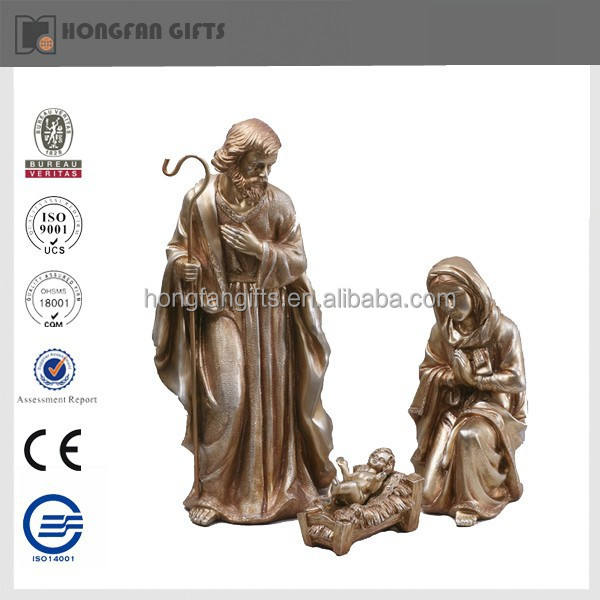 resin religious items of jesus