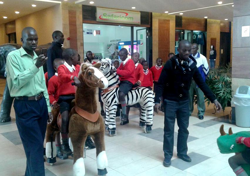 walking mechanical animal ride on toys for children