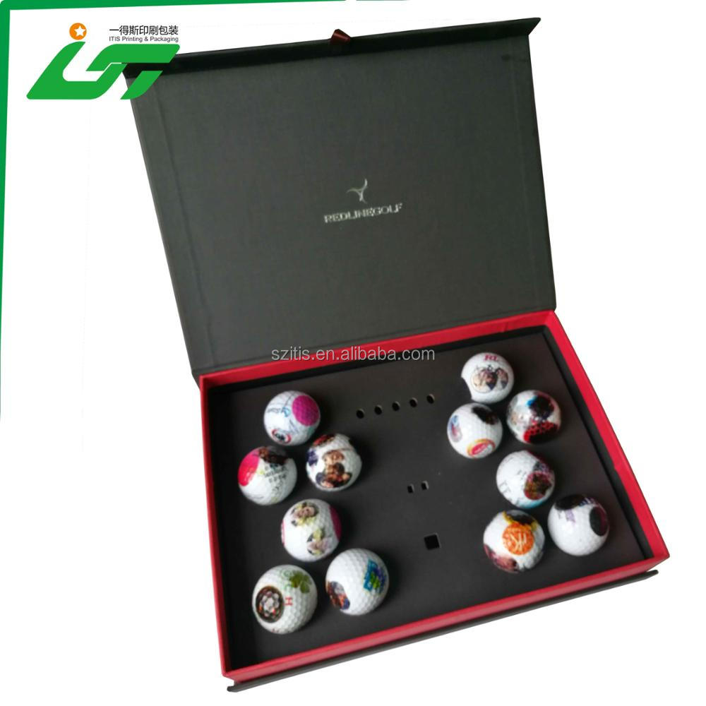 Best seller golf ball packaging box in Shenzhen