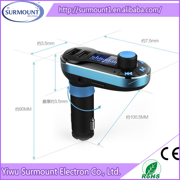 car mp3 player fm transmitter manual