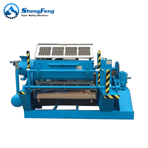 Henan Qinyang automatic paper pulp recycled moulding egg carton tray making machine
