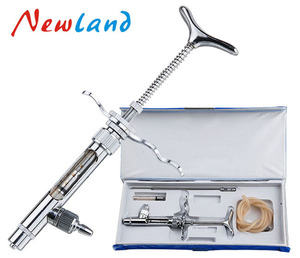 NL103 0.1-1ml Luer-lock continuous poltry gun/injector/syringefor veterinary animal