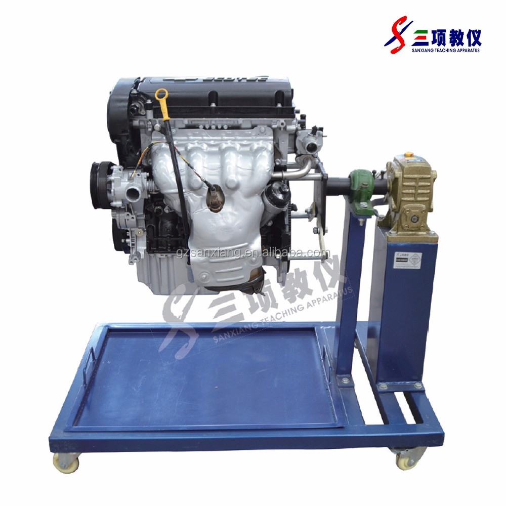 Hot Selling teaching board electronic controlled diesel engine bench training board for school