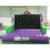 Outdoor commercial interesting inflatable rock climbing slide for sale