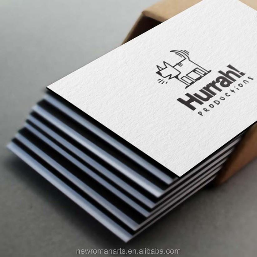 Custom Letterpress Business Cards Duplexed 500gsm Cotton Paper