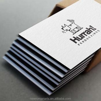 Custom letterpress business cards duplexed 500gsm cotton paper custom letterpress business cards duplexed 500gsm cotton paper printing edge colour paint reheart Images