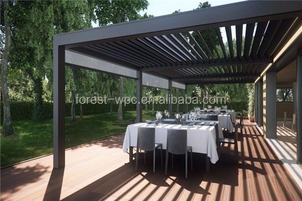 madera terrazas gazebo prgola de hierro forjado - Pergolas De Hierro