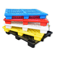 Custom cheap prices plastic euro pallet, logistic plastic pallet tray four way plastic pallets