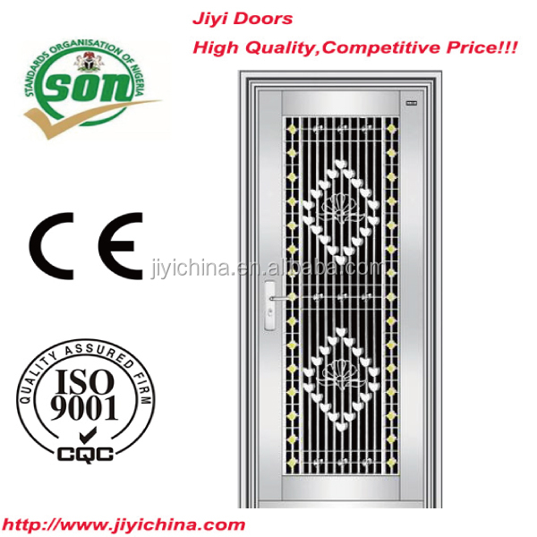 New design stainless steel swing security door with 304 stainless steel