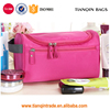 Unisex Waterproof Tote Wash Bag Grooming Bag Toiletry Make Up Cases For Travel(Pink)