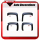 CV81721-ABS Blister Fender Flare Fender Cover For Chevy Silverado 1500 07-13