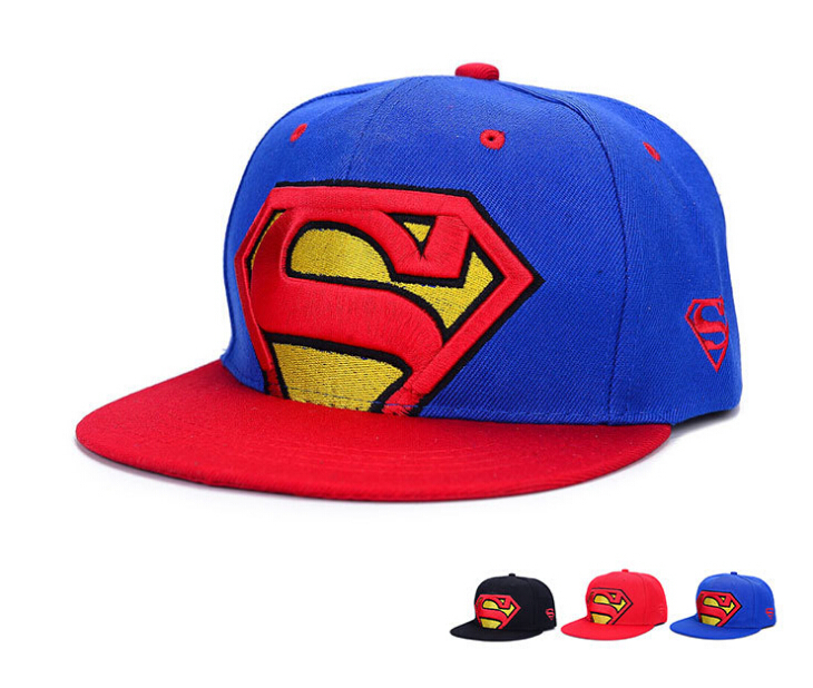 938841f5a34a8 Summer style Snapback caps For Adult Cotton Superman Baseball hat Snap back