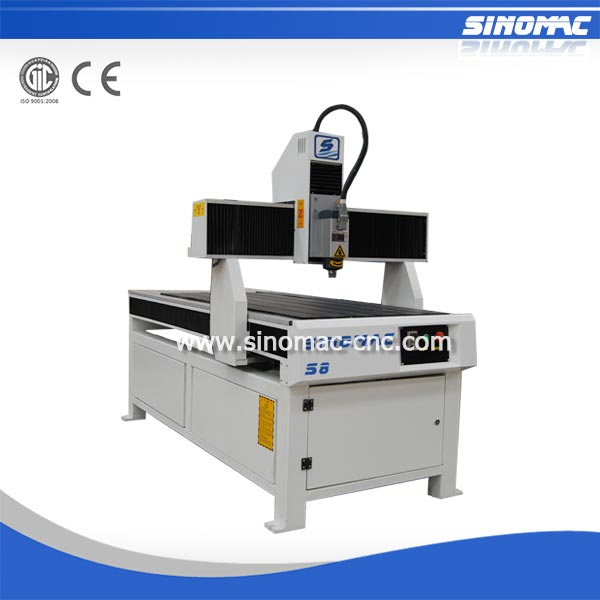 Sinomac made in china small cnc router S8-0615 220 spindle for cnc bt40 taiwan