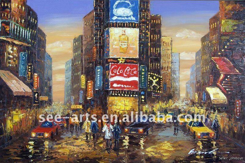 new york city manhattan pop art gem lde malerei kalligraphie produkt id 507432971 german. Black Bedroom Furniture Sets. Home Design Ideas